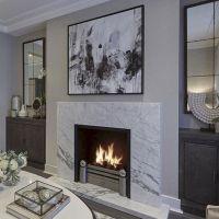 45+ Beautiful Contemporary Fireplace Design Ideas ...