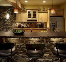 Basement Kitchen Bar