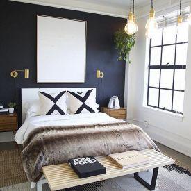 Best Color Modern Bedroom Design 43