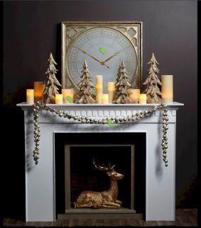 Christmas Mantel Decor Design Ideas