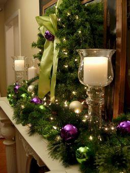 Christmas Mantel Decor Design