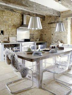 Modern French Farmhouse Kitchen