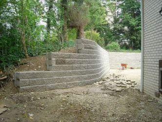 Concrete Block Retaining Wall Design