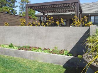 Concrete Retaining Wall Idea