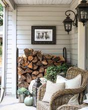 Gorgeous Farmhouse Front Porch Ideas 116