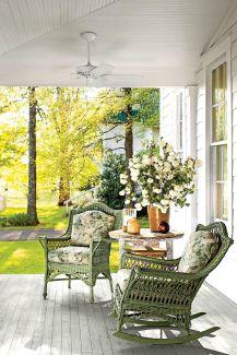 Gorgeous Farmhouse Front Porch Ideas 14