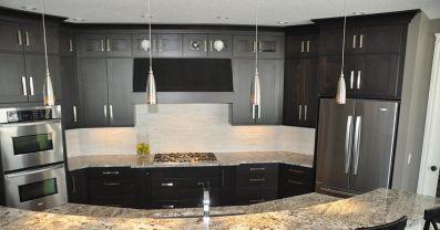 Kitchen Designs With Black Cabinets Design