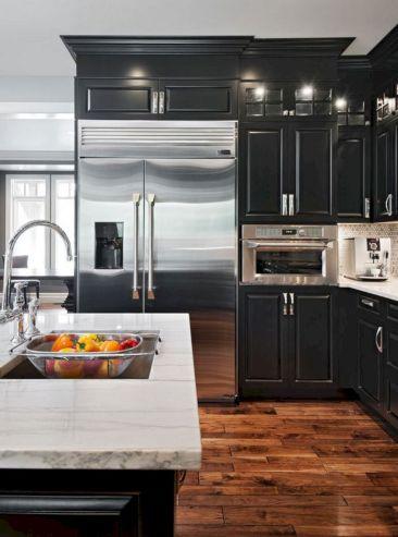 Kitchen Designs With Blacks Cabinet