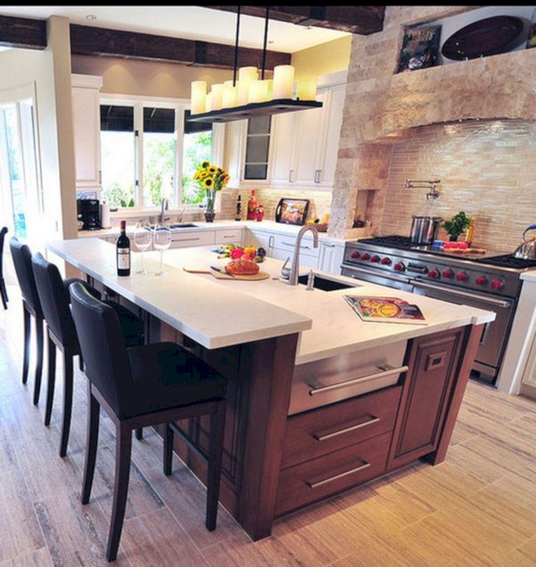Merveilleux Kitchen Island Designs With Bar