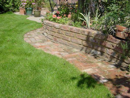 Landscaping Garden Brick Wall