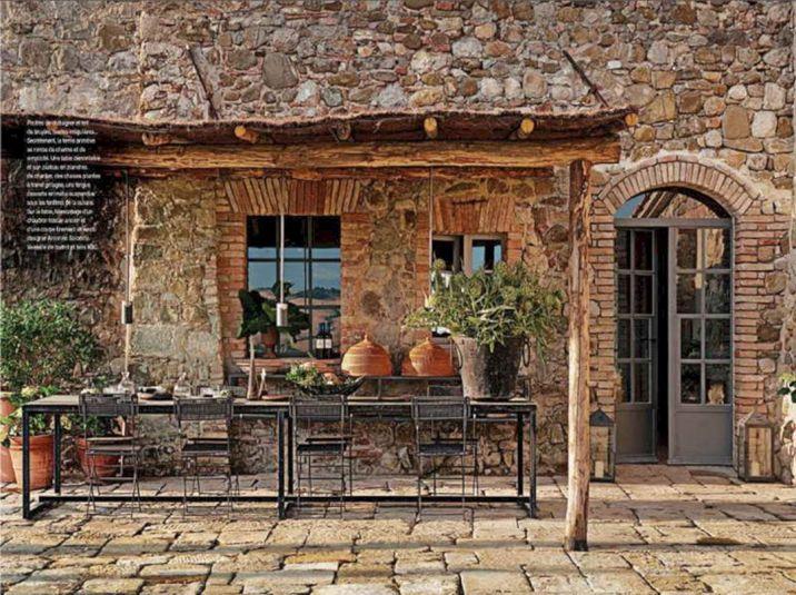 Rustic Italian Decorating Design Idea