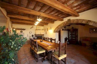 Rustic Italian Dining Room Decor
