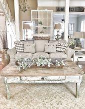 Shabby Chic Apartment Living Room 28
