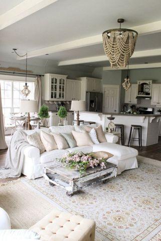 Shabby Chic Apartment Living Room 4