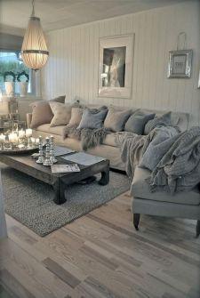 Shabby Chic Apartment Living Room 6