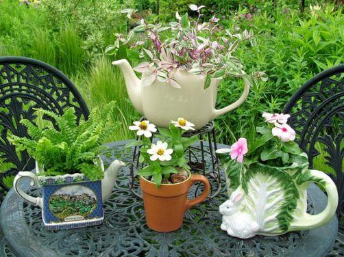 Teapot Container Garden