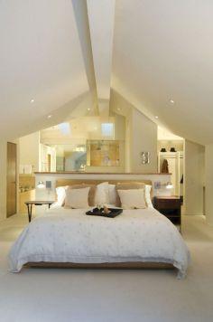 Attic As Bedroom With Loft