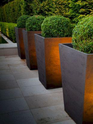 Contemporary Outdoor Planters Pots