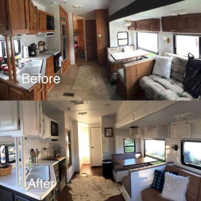 DIY RV Remodel Interior