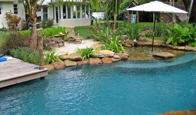 Florida Tropical Pool Ideas