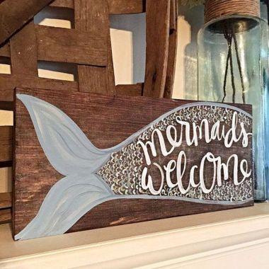 Mermaid Home Decors Ideas