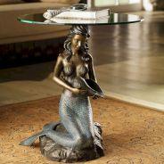 Mermaid Sculpture Table