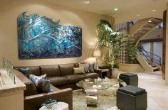 Modern Living Room Wall Art