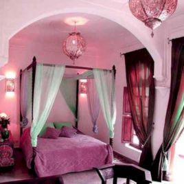 Pink Moroccan Bedroom
