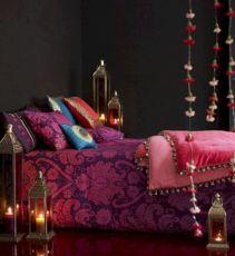 Purple Moroccan Bedroom Decor