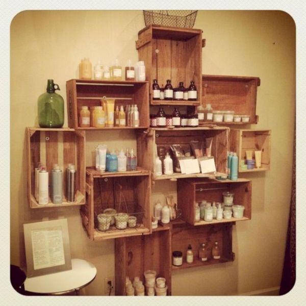 Salon Retail Display Ideas