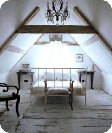 Shabby Chic Attic Bedroom