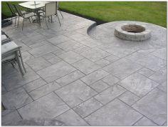 Stamped Concrete Patio Designs Idea