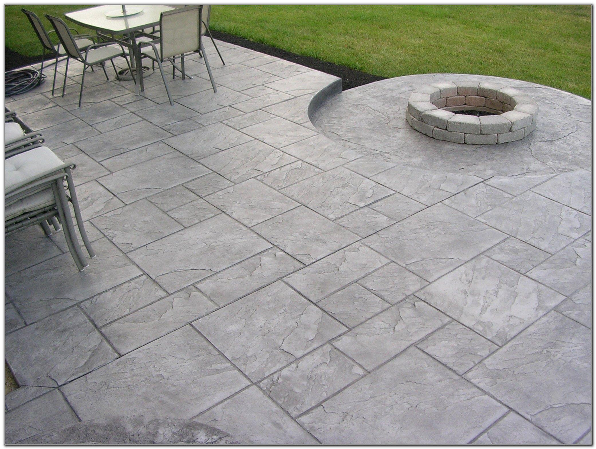 Textured Concrete Patio Designs. Unique Concrete Stamped Concrete Patio  Designs Idea Intended Textured E
