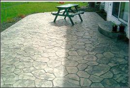 Stamped Concrete Patio Designs Ideas