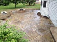Excellent Stamped Concrete Patio Design Ideas