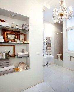 Built In Shelves Bathroom Ideas