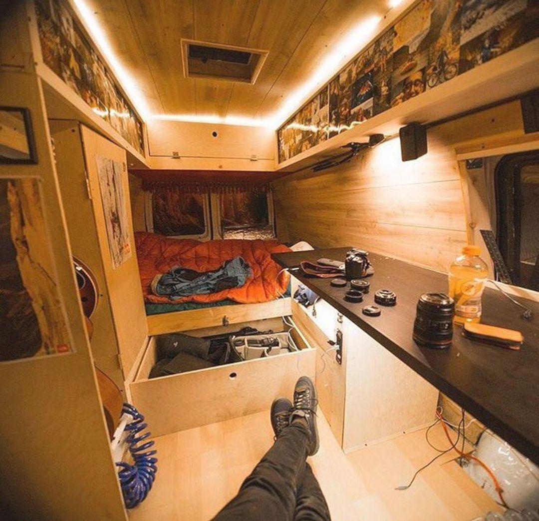 Conversion Van Interiors