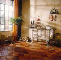 French Terracotta Tile Floor