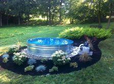 Galvanized Stock Tank Pool