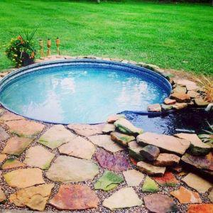 Galvanized Stock Tank Swimming Pool Design