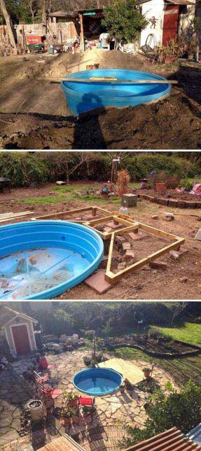 Galvanized Stock Tank Swimming Pools
