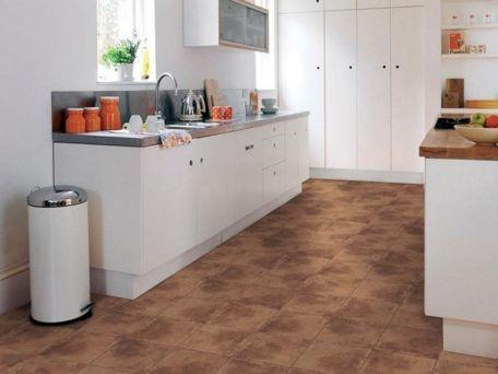 Kitchen With Terracotta Floor Tile