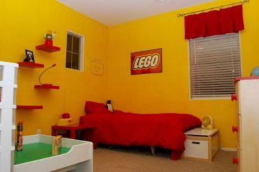 Lego Themed Boys Room