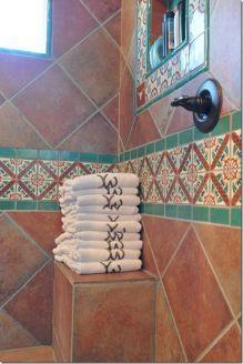Mexican Tile Bathroom Showers