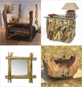 Rustic Wood Furniture Ideas