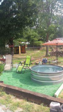 Stock Tank Swimming Pool Design Idea