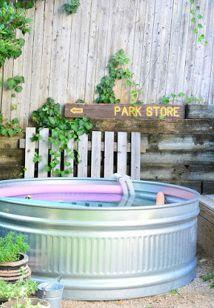 Stock Tank Swimming Pool Design