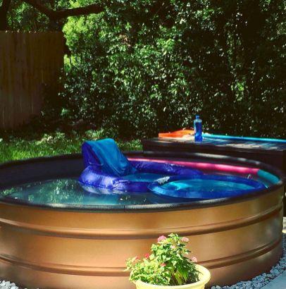 Stock Tank Swimming Pool Designs