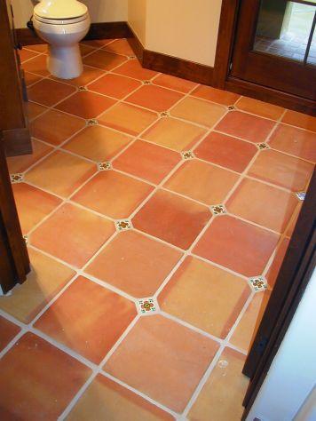 Terracotta Mexican Floor Tiles