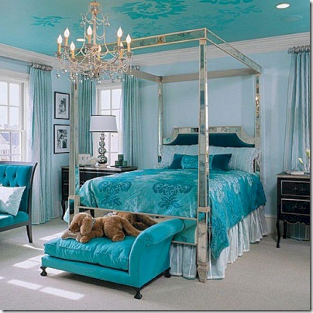 Turquoise Bedroom Room Ideas